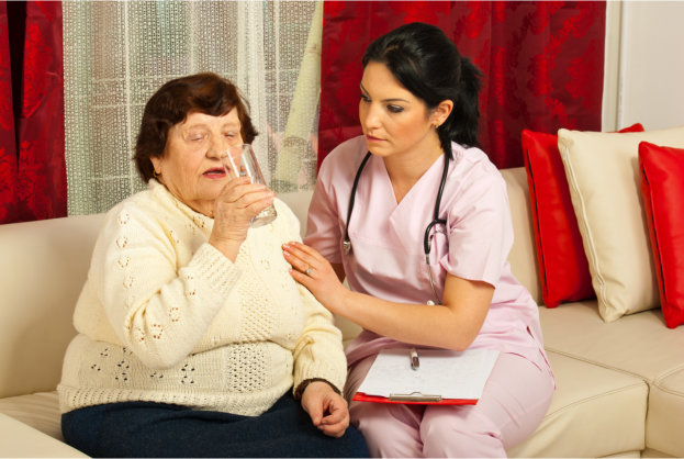 How to Handle Senior Adults Complaining About Medicating